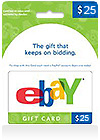 eBay Gift Card $ 25 (US)