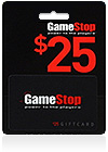 GameStop Gift Card $ 25 (US)
