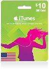 iTunes Gift Card (US) $ 10
