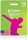 iTunes Gift Card (US) $ 15