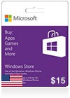Windows Phone Store Gift Card (US) $ 15