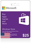Windows Phone Store Gift Card (US) $ 25
